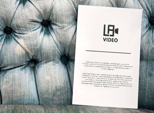 Разработка логотипа LaVideo