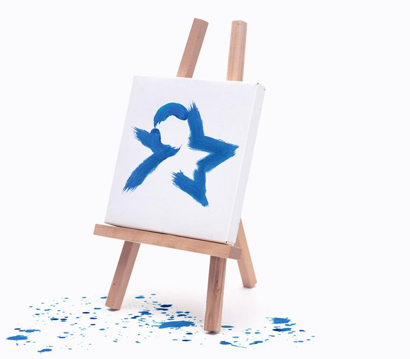 Я-звезда-создание-логотипа-социального-портала-творческого-общества