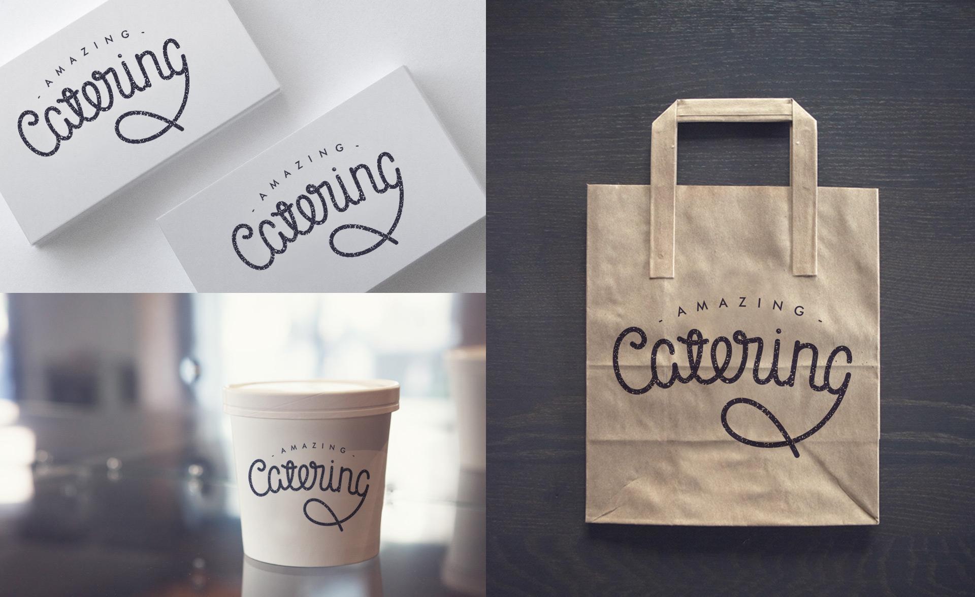 Amazing-catering-леттеринг-логотип-каллиграфия-в-фирменном-стиле