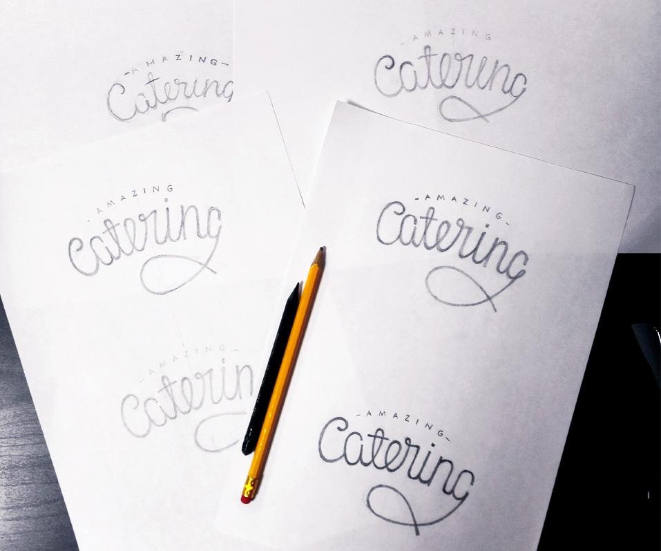 Amazing-catering-разработка-логотипа-в-стиле-леттеринг