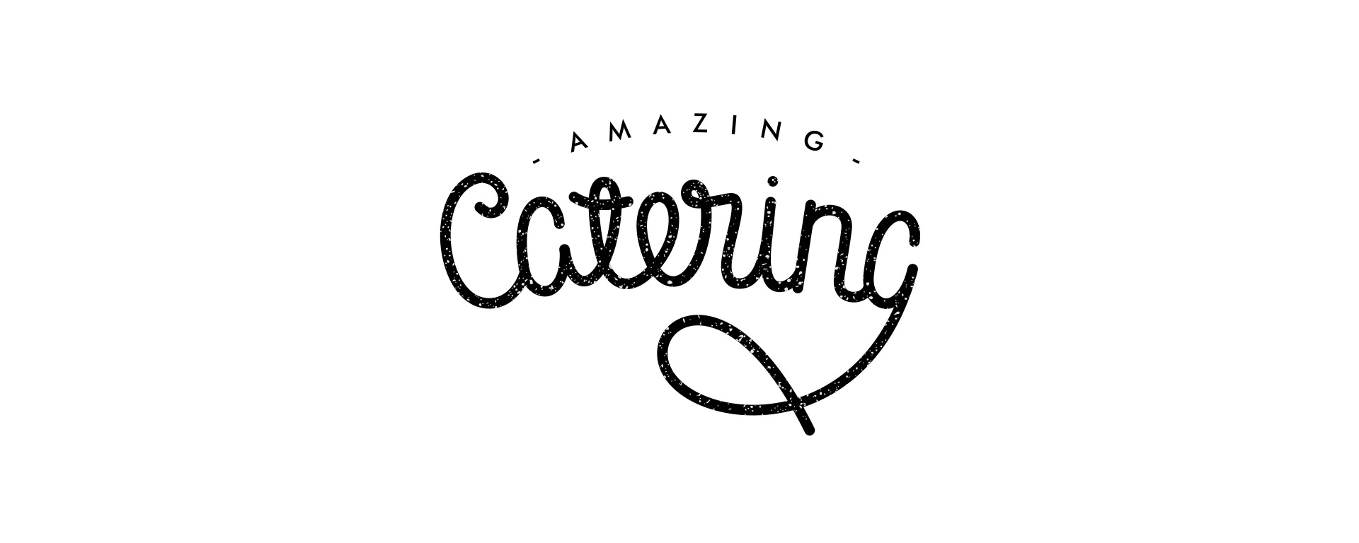 Amazing-catering-white-style-lettering-logotype